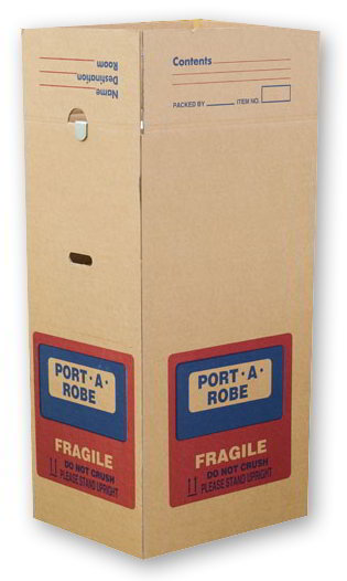 Cartons - Port-A-Robe